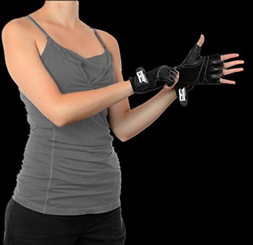 RIMSports Weightlifting - Gloves for Gym Weights Equipment Gloves to Workout Weights