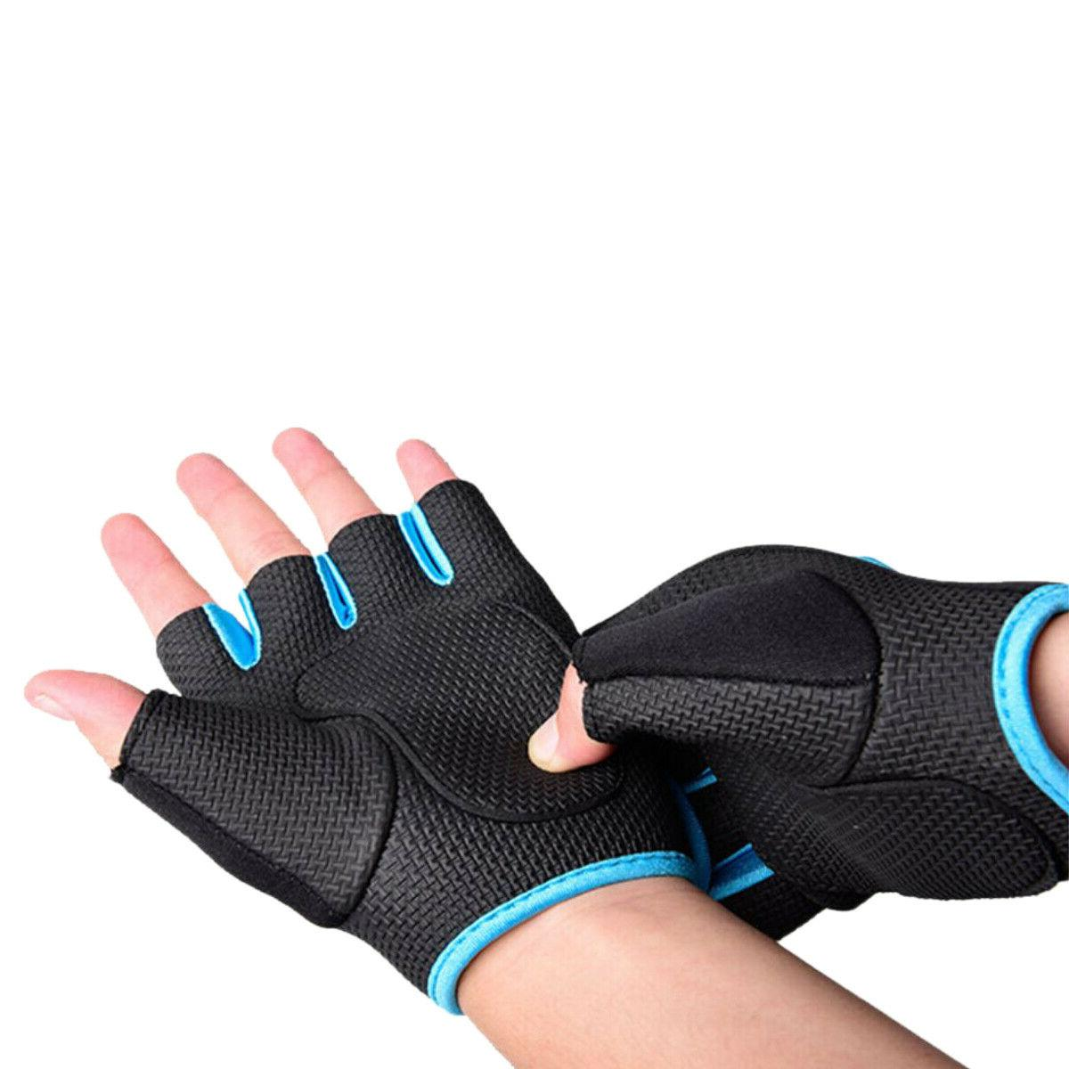 Women Men Half Finger Work Sport Fitness