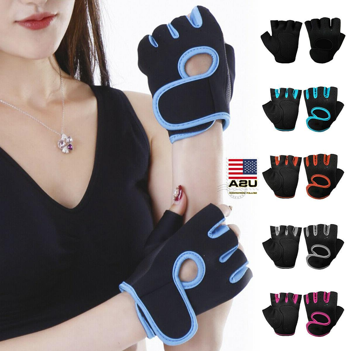 women men half finger work out gym