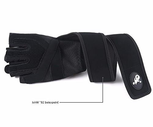 fenglei Gloves, Microfiber & Gel Weightlifting, Training, Cross Fit, Fitness and