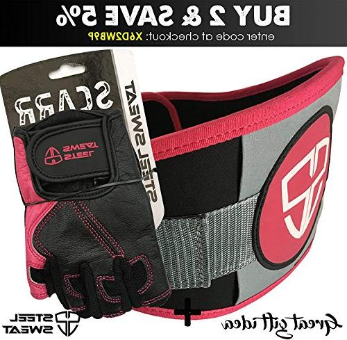 - Best Gym Fitness Crossfit Men and who Love Black/Pink Medium