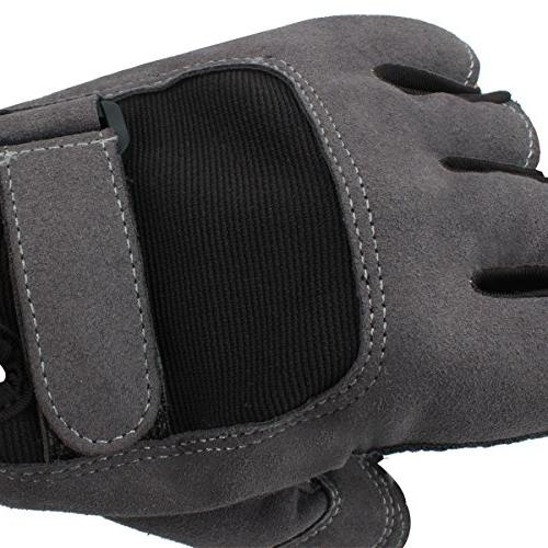 Trideer Workout Gloves, Full Palm Grip, for Weight Exercise