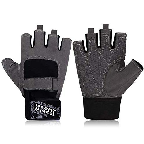 Trideer Workout Gloves, Palm Protection & Extra Grip, Weight Lifting, Exercise )