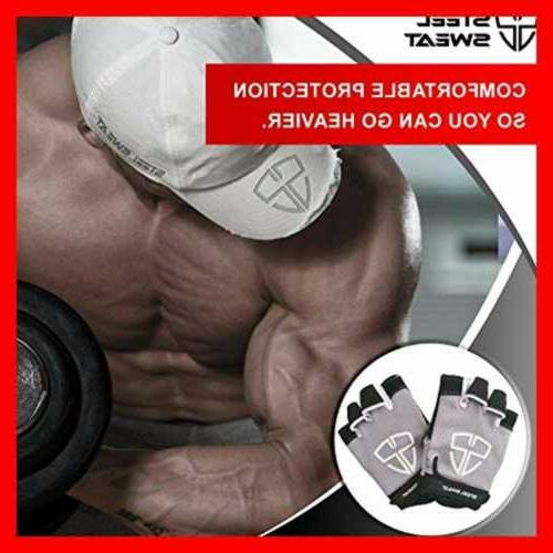 Steel Workout Gloves Best For Gym Fitness