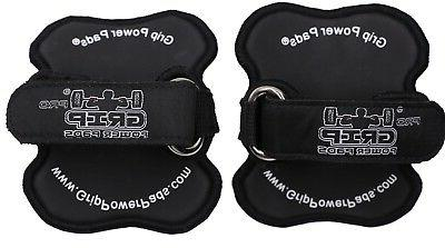 WORKOUT GLOVES Black Pad GYM Fitness Grips Straps