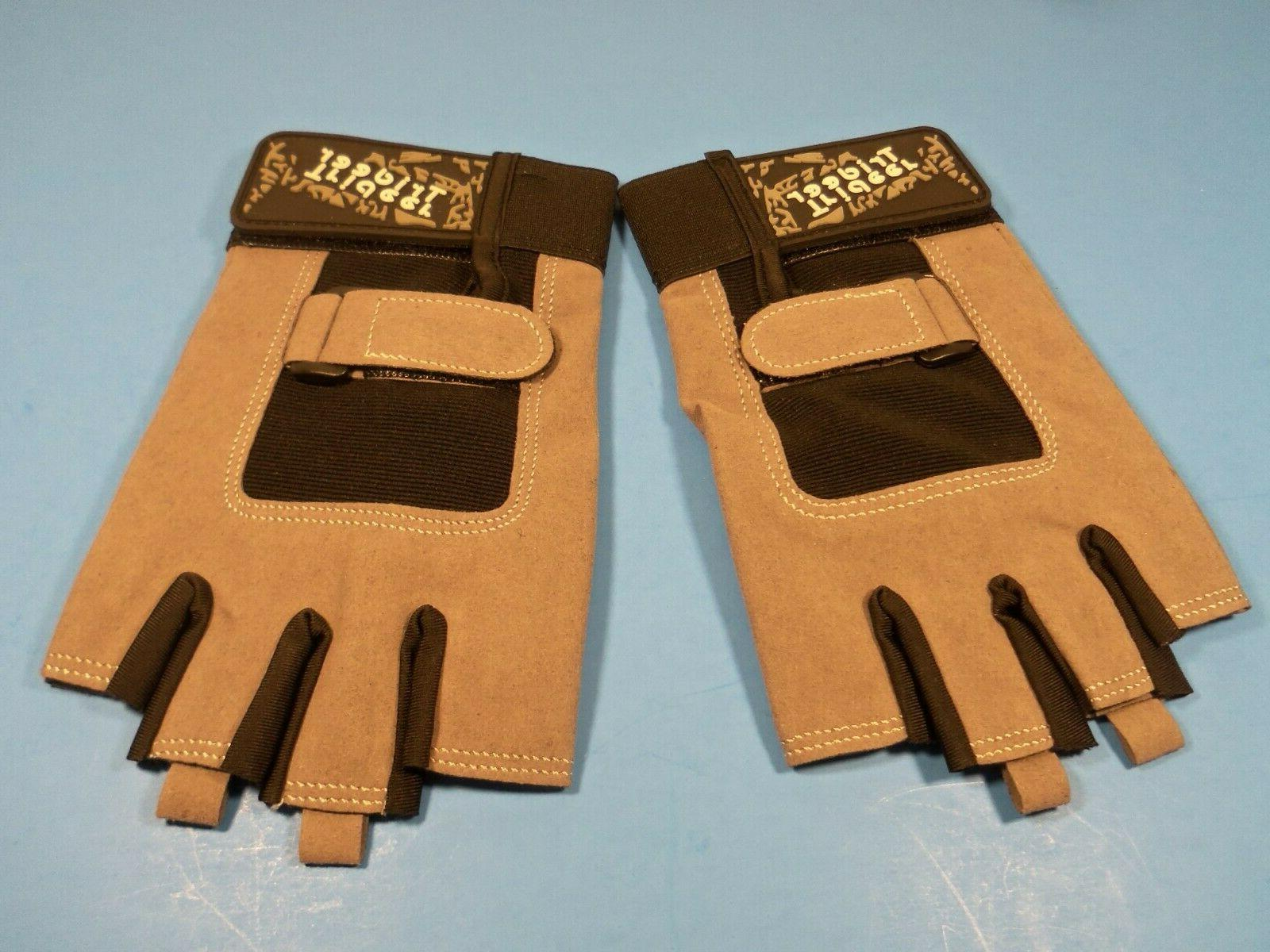 workout gloves w palm protection and grip