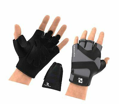 workout weight lifting gloves w silicone non
