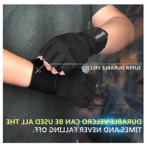 ihuan Professional Gloves, Full Protection and Better Design, Great Weight Training, Pull ups. &