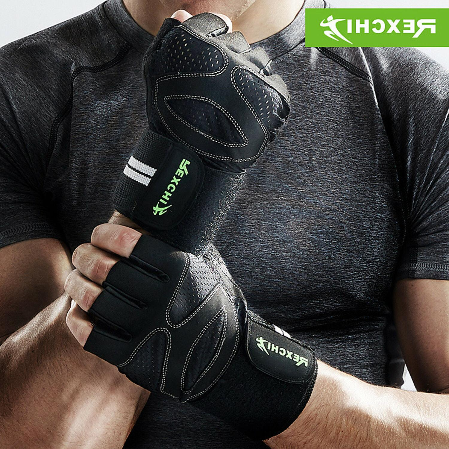 wrist wrap support gym gloves for weight