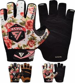 RDX Ladies Weight Lifting Gloves Body Building Women Gym Glo