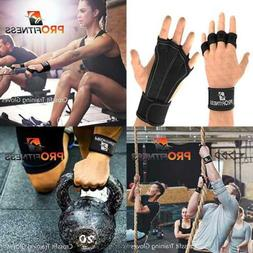 leather padding cross training gloves w wrist