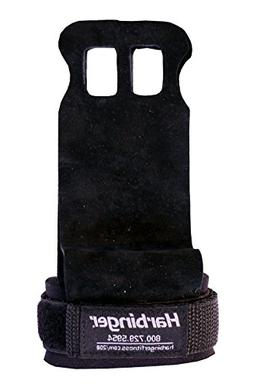 Harbinger Leather Palm Grips for Weight Lifting Hand Protect