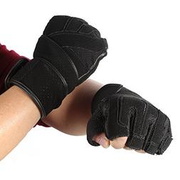 Mounchain Weight Lifting Gloves With Wrist Support, Ultra So