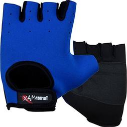 TurnerMAX Weight Lifting Gloves Blue Small Neoprene