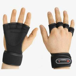 NEW Weight Lifting Gloves Fitness Gym Training Gloves Long W