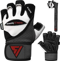 RDX Weight Lifting Gloves Gym Crossfit Workout Powerlifting