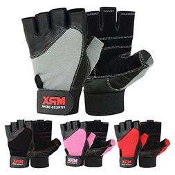 Weight Lifting Gloves Gym Fitness Training Glove Exercise Le
