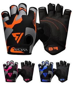 RDX Weight Lifting Gloves Workout Fitness Bodybuilding Gym C