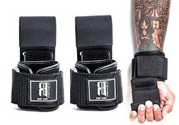 Weight Lifting Hooks Heavy Duty - Lifting Wrist Straps for P
