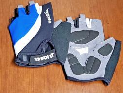 Trideer Light Cycling Gloves, Large, Blue, Weightlifting Glo