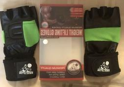 Lot Of 10 Nordic Weight Lifting Gloves Premium Leather