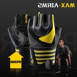 Maxairms 1 Pair Sports Gym <font><b>Gloves</b></font> Half F