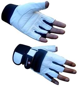 4Fit Maximuscle Heavy Duty Weight Lifting Gloves Gym Trainin