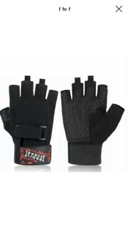 Med.Trideer Weight Lifting Gloves Workout Exercise Training
