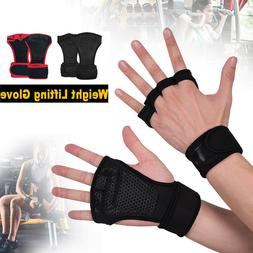 Men&Women Workout Wrist Wrap Gloves for Gym Training Fitness