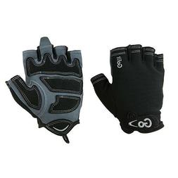 Men's Fitness Workout Gloves - Medium - Gray/Black Gofit Xtr