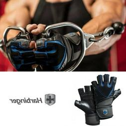 Harbinger Men's Training Grip Wrist Wrap Weight Lifting Glov