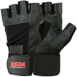 Men's Weight Lifting Gloves Gym Training Workout Grip Glove