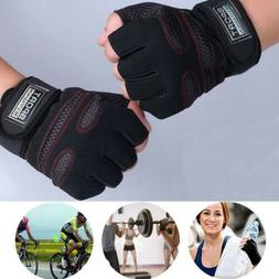 Men Weightlifting Gym Training Sports Fitness Wrist Wrap Wor