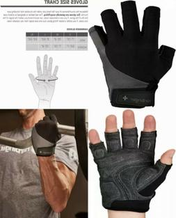 Harbinger Men's LARGE BioFlex Elite Weightlifting Gloves.