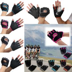 Mens Leather Gloves Exercise Outdoor Training Sports GYM Wei