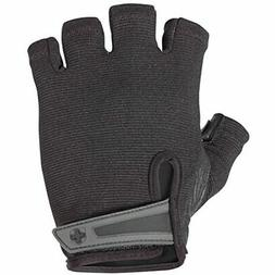 Mens Power Weightlifting Gloves StretchBack Mesh Leather Pal