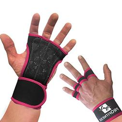 ProFitness Neoprene Workout Gloves with Silicone Non-Slip Gr