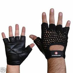 Maximuscle Net Training Gloves Weight Lifting Gloves Mesh Ba