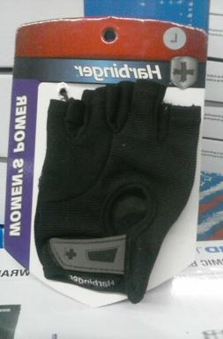 new Harbinger 154 Women's Power Weight Lifting Gloves - Blac