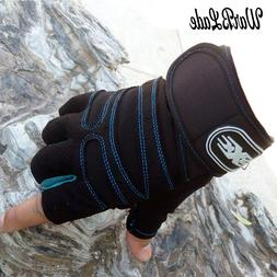 New Men Women Half Finger Fitness <font><b>Gloves</b></font>