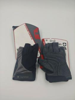 NEW Harbinger Men's BioFlex Elite Weightlifting Gloves wit