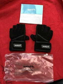 NEW TRIDEER PADDED WORKOUT / WEIGHT LIFTING GLOVES SIZE - SM