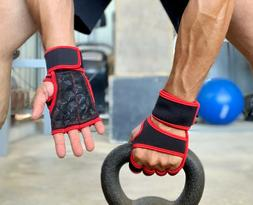 Workout Gloves With Wrist Support Wraps Straps Perfect For W