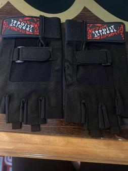NEW Trideer Weight Lifting Gloves Breathable Palm Grip Size