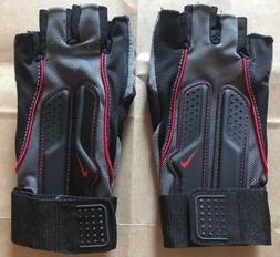 New Nike Weightlifting Fitness Training Gloves With Wristwra