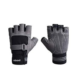 AMDXD Men Non Slip Exercise Weightlifting Gloves Half Finger
