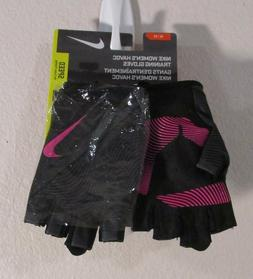 NWT Nike Womens Havoc Training Gloves M Black/Hyper Punch MS