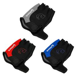 Outdoor Sports Half Finger 3D GEL Silicone Fitness Gloves Cy