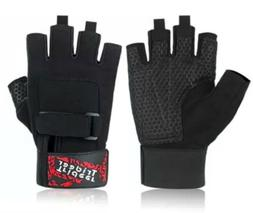 Trideer Padded Weight Lifting Gym Gloves Size Small - Workou