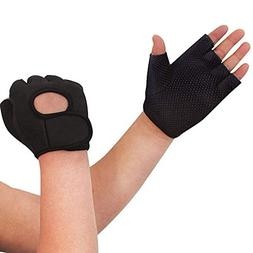 Nlife Power-Grip Half-Finger Sports Gloves,Exercise Gloves I